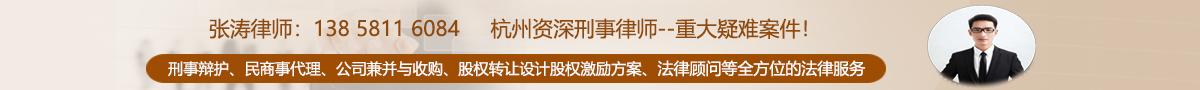 杭州资深知名刑事律师