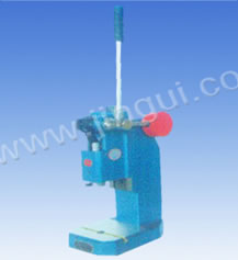 J03-0.6A型手动压力机